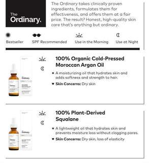 THE ORDINARY CHEAP & ORIGINAL UPDATED PRICE LIST