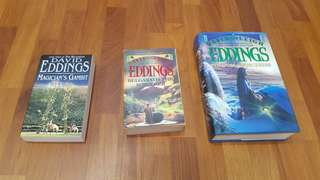 David Eddings fantasy books