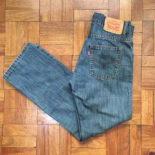 Levi's Girls' 513 Slim Jeans (Size 10)