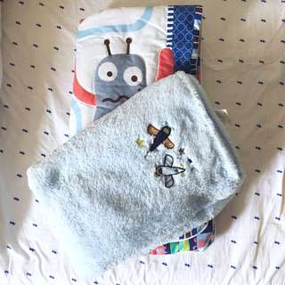 Baby blankets and comforter