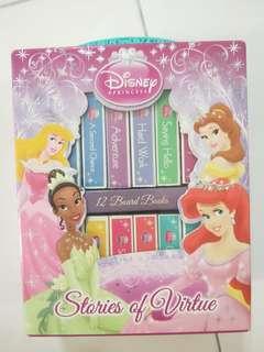 Disney Princess mini book collection.
