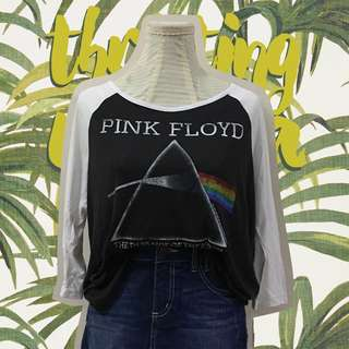 H&M Pink Floyd Dark Side of the Moon Raglan
