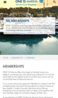 One degree 15 membership for sale