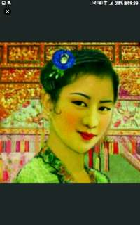 A1 size jumbo size  594 x 841 mm  Canvas material  Nyonya Ladies Peranakan baba nonya  Poster Prints By Local Original Peranakan 峇峇娘惹
