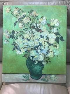 Painting- white rose