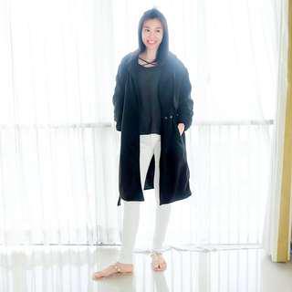 Winter trench coat korea import