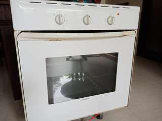 Oven given away