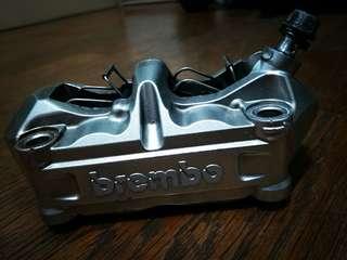 BREMBO輻射對四卡鉗,銀色,勁戰