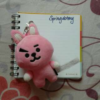 [ READY STOCK ] BT21 Cooky Keyring