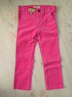 New Oshkosh girl pant pink 4 4T