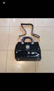 XOXO Patent Leather Bag