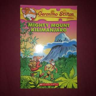 Geronimo Stilton: Mighty Mount Kilimanjaro