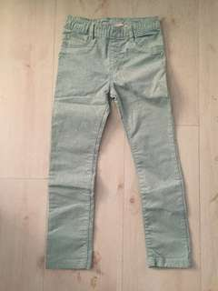 New H&M girl long pant 5-6 years old