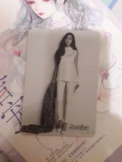 jessica yes card