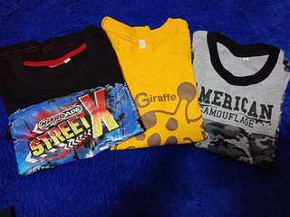 Kaos Anak / Kaos Modern / Kaos Anak Laki Laki