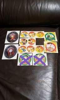 包郵 香港迪士尼貼紙 Hong Kong Disneyland Stickers 可散買