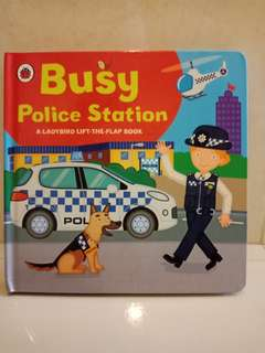 Busy police station