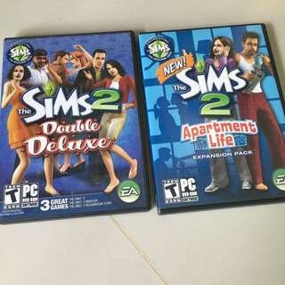 Sims2 Apartment Life And Double Deluxe