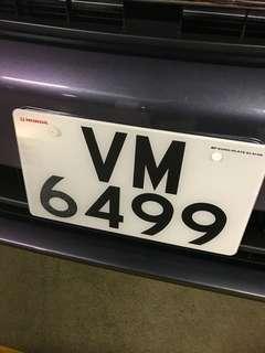 幸福車牌VM6499