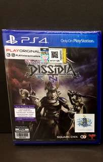 PS4 Dissidia Final Fantasy with Bonus