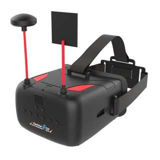 Eachine VR D2 Pro 5 Inches 800*480 40CH 5.8G Diversity FPV Goggles DVR Lens Adjustable for RC Drone