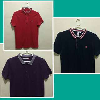Sale!! Men's Collared Short Sleeve Polo