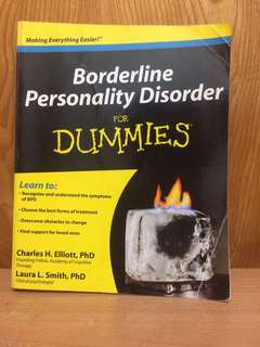 Borderline a Personality Disorder for Dummies