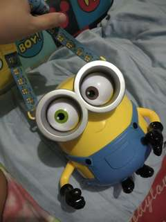 Minion toy bag