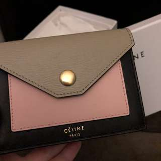 Celine pocket wallet 小銀包/卡片套