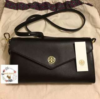 Tory Burch Robinson Expandabale Conceirge Wallet Bag