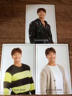 韓國Kim jong kook post card