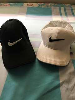 Black and White Nike Golf Hat
