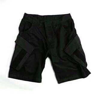 六折🔥拼接口袋機能工裝短褲