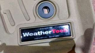 Weathertech Matting for Toyota Innova