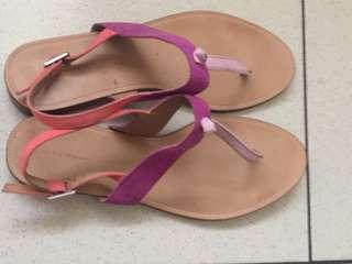 Zara Thong Sandals