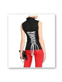 🆕Love Moschino綁繩無袖恤衫