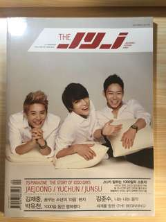 THE JYJ Magazine (The story of 1000 days)