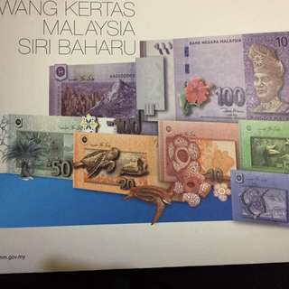 Malaysia commerative notes for sale!!