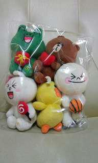 Pre loved Line Friends Gang