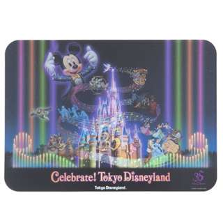 Tokyo Disneysea Disneyland Disney Resorts Sea Land 35th Anniversary Celebrate 2018 Place Mat Preorder