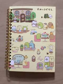 Sumikko Gurashi Hardcover ring binded notebook