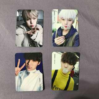 monsta x minhyuk the clan part 1 and 2 photocards