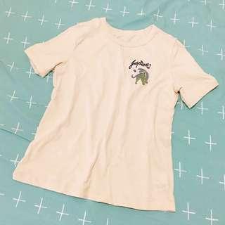 日系刺繡復古T-shirt T恤