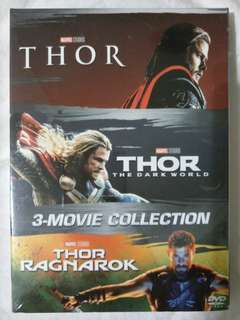 [Movie Empire] Thor Trilogy 3 Movie Collection DVD Box Set