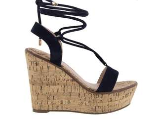 Navy Tony Bianco Wedges