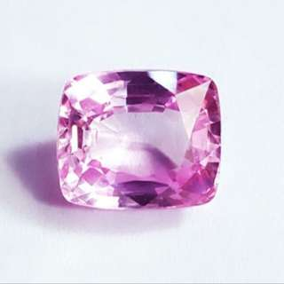 (8.22 Cts) Natural Pink Sapphire