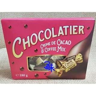 (烏克蘭) 千禧巧克力-可可味&咖啡味 1盒180公克【4820075505387】