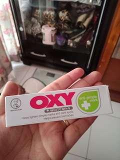 Oxy whitening anti pimple mark (menghilangkan bekas jerawat) beli di malaysia