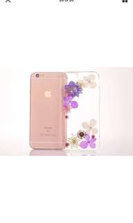 Brand New Handmade Real Flower Floral iPhone Case 7/8 Plus