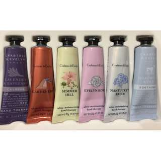 🌿Authentic Crabtree & Evelyn Hand Cream Gift Set🌿